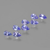 thumb image of 1.7ct Pear Facet Violet Blue Tanzanite (ID: 413926)