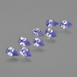 thumb image of 1.6ct Pear Facet Violet Blue Tanzanite (ID: 413931)