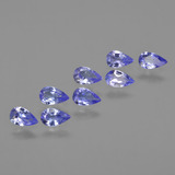 thumb image of 1.4ct Pear Facet Violet Blue Tanzanite (ID: 413934)