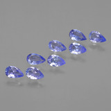 thumb image of 1.6ct Pear Facet Violet Blue Tanzanite (ID: 413936)