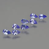 thumb image of 1.4ct Pear Facet Violet Blue Tanzanite (ID: 414332)