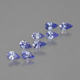 thumb image of 1.5ct Pear Facet Violet Blue Tanzanite (ID: 414338)