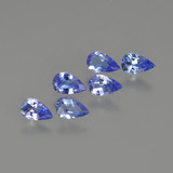 thumb image of 1.2ct Pear Facet Violet Blue Tanzanite (ID: 414473)