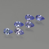 thumb image of 1.3ct Pear Facet Violet Blue Tanzanite (ID: 414479)