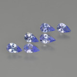 thumb image of 1.1ct Pear Facet Violet Blue Tanzanite (ID: 414481)