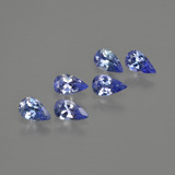 thumb image of 1.2ct Pear Facet Violet Blue Tanzanite (ID: 414544)