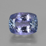 thumb image of 2.3ct Cushion-Cut Violet Blue Tanzanite (ID: 415424)