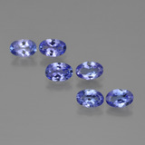 thumb image of 2.5ct Oval Facet Violet Blue Tanzanite (ID: 415670)