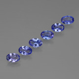 thumb image of 2.3ct Oval Facet Violet Blue Tanzanite (ID: 415674)