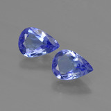 thumb image of 1.3ct Pear Facet Violet Blue Tanzanite (ID: 419442)