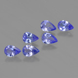 thumb image of 2.2ct Pear Facet Violet Blue Tanzanite (ID: 419526)
