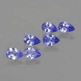 thumb image of 2ct Pear Facet Violet Blue Tanzanite (ID: 419531)