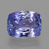 thumb image of 3ct Cushion-Cut Violet Blue Tanzanite (ID: 420059)