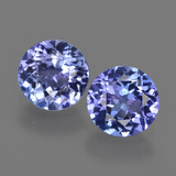 thumb image of 1.9ct Round Facet Violet Blue Tanzanite (ID: 420312)