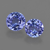 thumb image of 1.8ct Round Facet Violet Blue Tanzanite (ID: 420314)