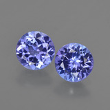 thumb image of 1.8ct Round Facet Violet Blue Tanzanite (ID: 420317)