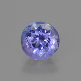 thumb image of 1ct Round Facet Violet Blue Tanzanite (ID: 420525)