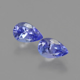 thumb image of 1ct Pear Facet Violet Blue Tanzanite (ID: 421055)
