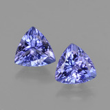 thumb image of 2.3ct Trillion Facet Violet Blue Tanzanite (ID: 421217)