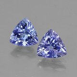 thumb image of 2.3ct Trillion Facet Violet Blue Tanzanite (ID: 421221)