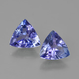 thumb image of 1.8ct Trillion Facet Violet Blue Tanzanite (ID: 421227)