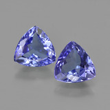 thumb image of 1.9ct Trillion Facet Violet Blue Tanzanite (ID: 421228)