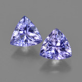 thumb image of 2.5ct Trillion Facet Violet Blue Tanzanite (ID: 421312)