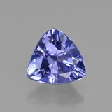 thumb image of 1.1ct Trillion Facet Violet Blue Tanzanite (ID: 421342)