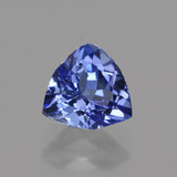 thumb image of 1.1ct Trillion Facet Violet Blue Tanzanite (ID: 421376)