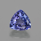 thumb image of 1.2ct Trillion Facet Violet Blue Tanzanite (ID: 421380)