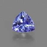thumb image of 0.8ct Trillion Facet Violet Blue Tanzanite (ID: 421421)