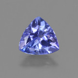 thumb image of 0.9ct Trillion Facet Violet Blue Tanzanite (ID: 421429)