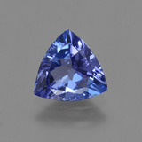 thumb image of 1ct Trillion Facet Violet Blue Tanzanite (ID: 421431)