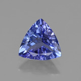 thumb image of 1ct Trillion Facet Violet Blue Tanzanite (ID: 421487)