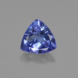 thumb image of 1.1ct Trillion Facet Violet Blue Tanzanite (ID: 421580)