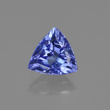 thumb image of 1ct Trillion Facet Violet Blue Tanzanite (ID: 421581)