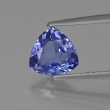 thumb image of 1.1ct Trillion Facet Violet Blue Tanzanite (ID: 421582)