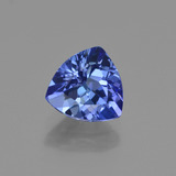 thumb image of 1.3ct Trillion Facet Violet Blue Tanzanite (ID: 421583)
