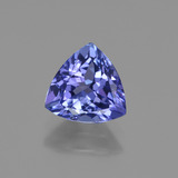 thumb image of 1.3ct Trillion Facet Violet Blue Tanzanite (ID: 421584)