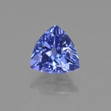 thumb image of 1.2ct Trillantschliff Violet Blue Tansanit (ID: 421585)
