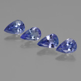 thumb image of 1.5ct Pear Facet Violet Blue Tanzanite (ID: 421749)