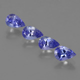 thumb image of 1.8ct Pear Facet Violet Blue Tanzanite (ID: 421858)
