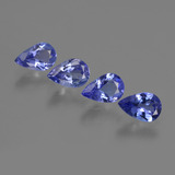 thumb image of 1.8ct Pear Facet Violet Blue Tanzanite (ID: 421938)