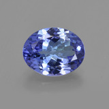 thumb image of 1.9ct Oval Facet Violet Blue Tanzanite (ID: 422597)