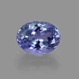thumb image of 2ct Oval Facet Violet Blue Tanzanite (ID: 422598)