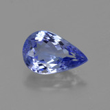 thumb image of 1.5ct Pear Facet Violet Blue Tanzanite (ID: 422665)