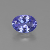 thumb image of 1.2ct Oval Facet Violet Blue Tanzanite (ID: 423611)