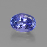 thumb image of 1.9ct Oval Facet Violet Blue Tanzanite (ID: 423671)