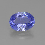 thumb image of 1.9ct Oval Facet Violet Blue Tanzanite (ID: 423672)
