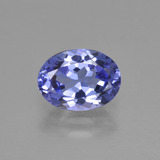 thumb image of 1.5ct Oval Facet Violet Blue Tanzanite (ID: 423675)